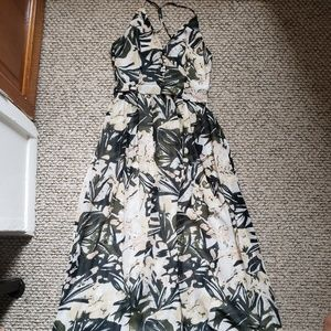 H&M Dresses - H&M Multicolored Printed Maxi Dress